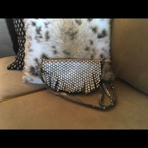 Handbags - Gunmetal Crossbody Bag
